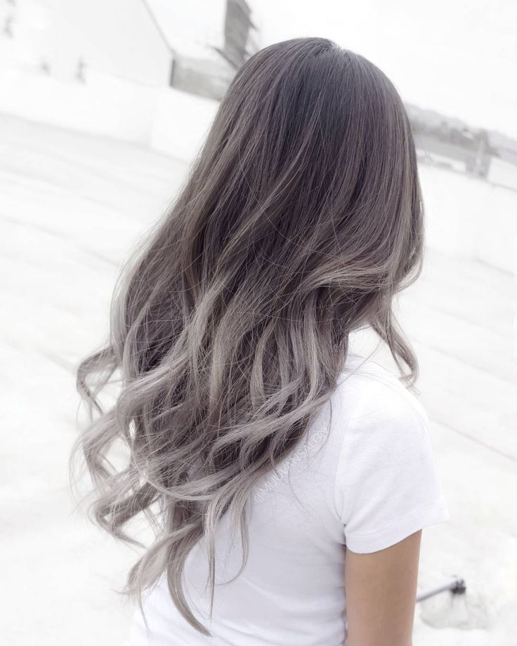25+ best ideas about Silver Ombre Hair on Pinterest