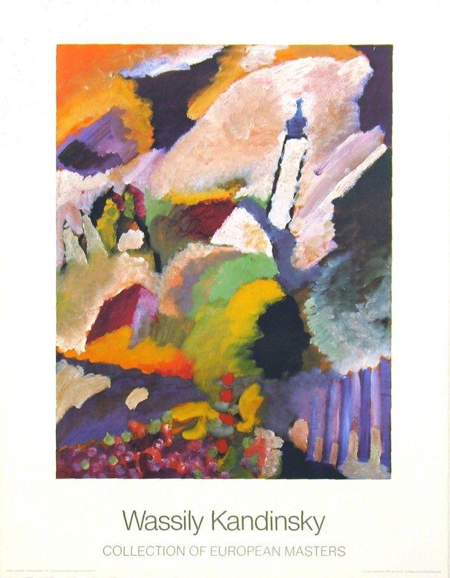 11 besten Wassily Kandinsky Bilder auf Pinterest | Wassily kandinsky ...