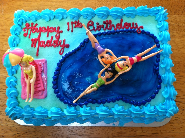 Synchro float for a cake.
