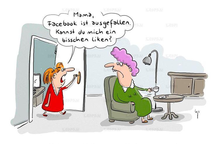 Familien-Cartoons: Schandtal! Komm zu Hause! - Humor | STERN.de