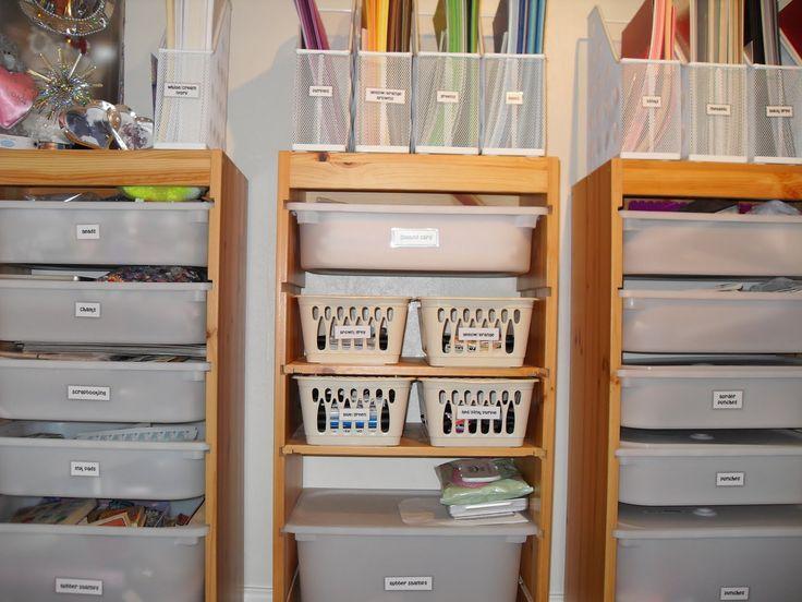 62 best craft and storage rooms images on pinterest diy. Black Bedroom Furniture Sets. Home Design Ideas