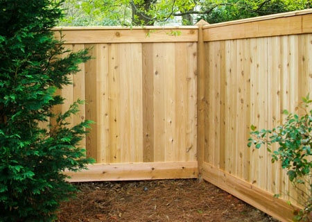 Simple wooden fence designs woodworking projects plans for Simple fence plans