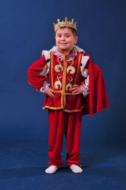 """Король с мантией """"Красный бархат"""" (средний)"""