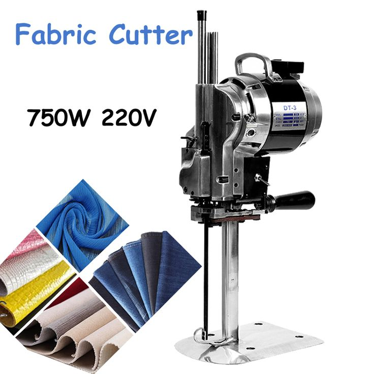 "750W 220V Fabric Cutter Straight Knife Electrical Industrial 10"" Cloth Cutting Machine Automatic Knife Sharpening #Affiliate"