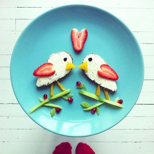 La colazione di primavera nel piatto | Idafrosk