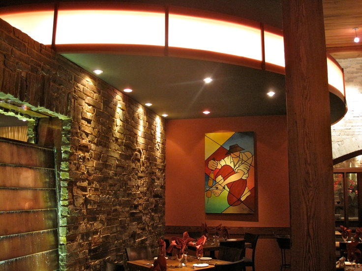 Milwaukee Located Downtown | Rodizio Grill - The Brazilian Steakhouse - what a stunning interior!