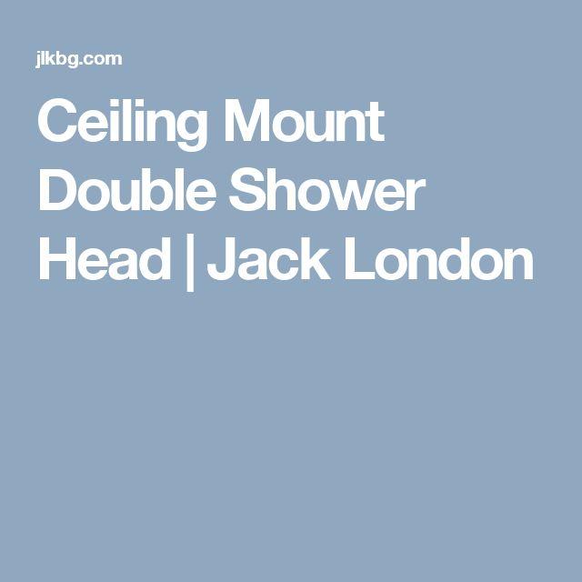 Ceiling Mount Double Shower Head | Jack London