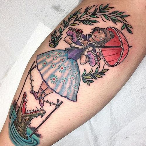 want on my shoulder...maybe a haunted mansion 1/4 sleeve? (like the size of ms. m's)