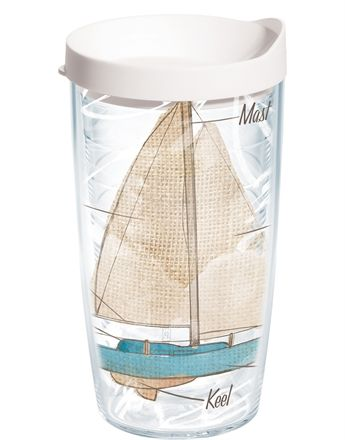 become a sailing expert with the sail boat parts tervis tumbler - Tervis Tumblers