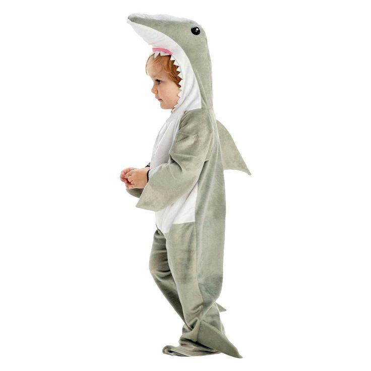 Toddler Shark Costume Medium (8-10), Toddler Boy's, Size: M(8-10), Variation Parent