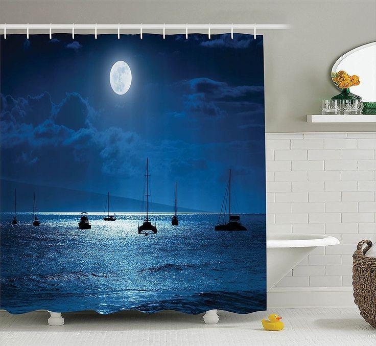 17 mejores ideas sobre cortinas de ducha de color azul en ...