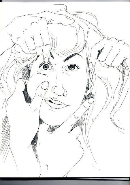 Tired self-portrait