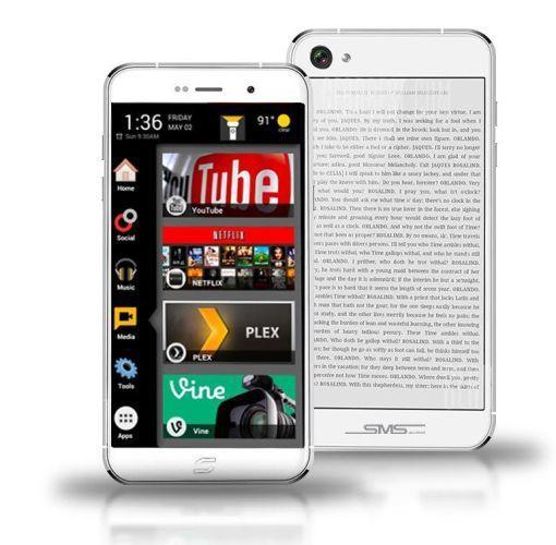 Mola: Siam 7x, otro smartphone que presume de contar con una pantalla dual