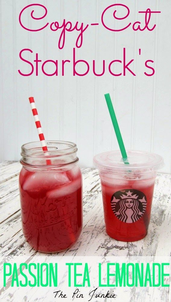 Starbucks Passion Tea Lemonade by The Pin Junkie ~ shared at Brag About It Link Party on VMG206 (Monday's at Midnight). #bragaboutit