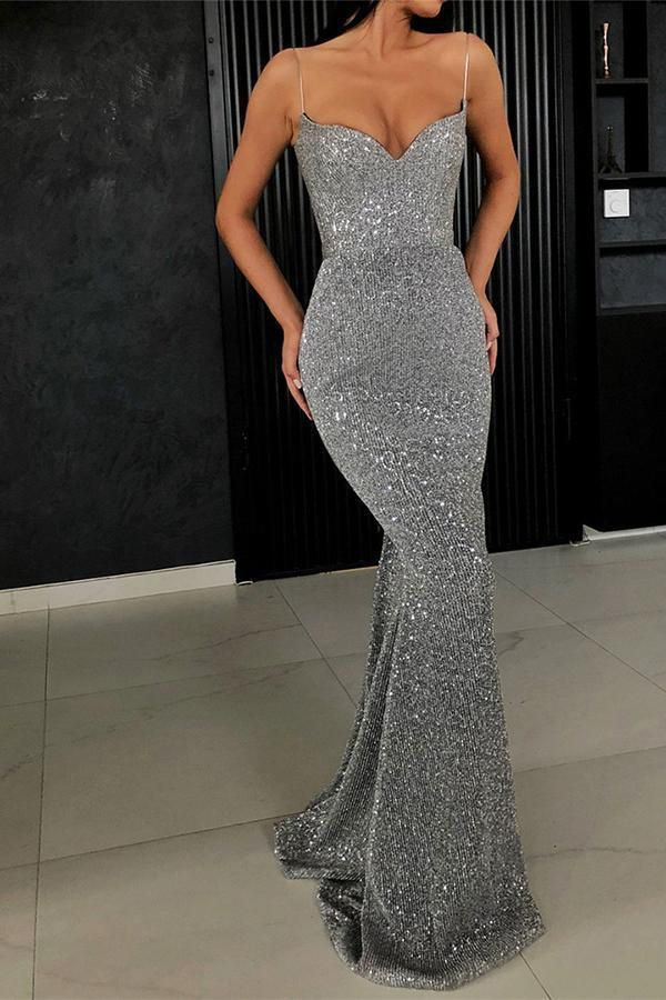 Sexy Sling And Fishtail Dress