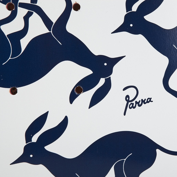 ROCKWELL BY PARRA 'DEER PATTERN' SKATEBOARD DECK