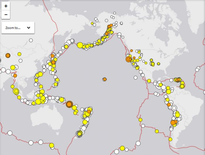 Enormous Earthquakes Hit Both Sides Of The Pacific And Experts Warn The San Andreas Could 'Unzip All At Once'  Read more: http://www.prophecydude.org/news/enormous-earthquakes-hit-both-sides-of-the-pacific/
