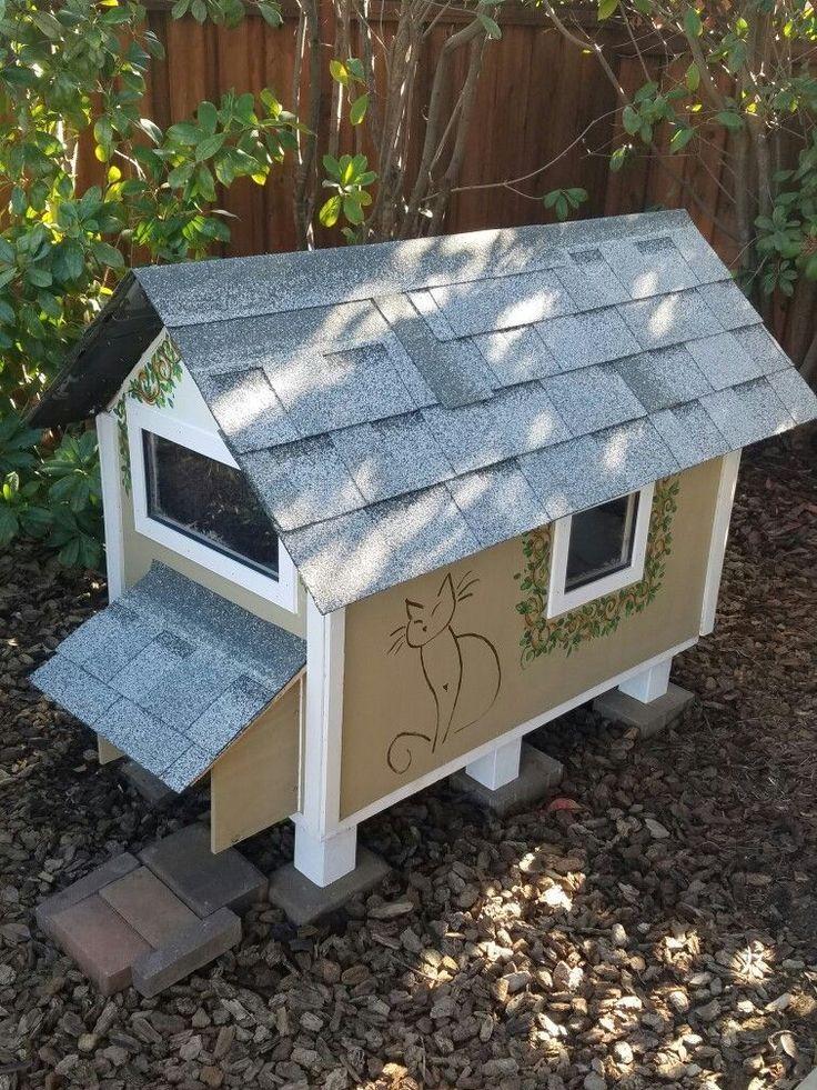 15 DIY Outdoor Cat Houses for Your Fur Babies Outdoor