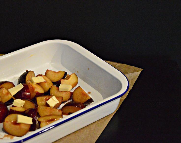 roasted plum and mascarpone recipe