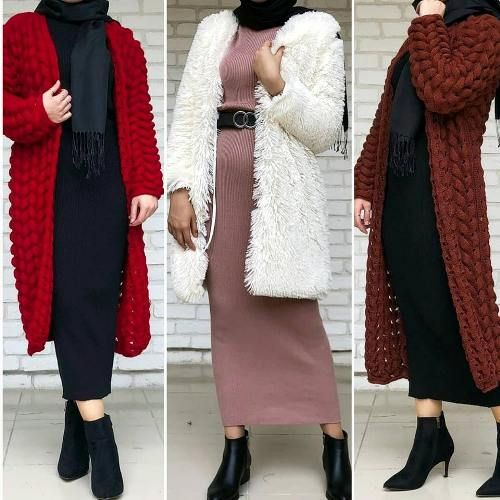 Mixing and matching beautiful winter hijab – Jus…