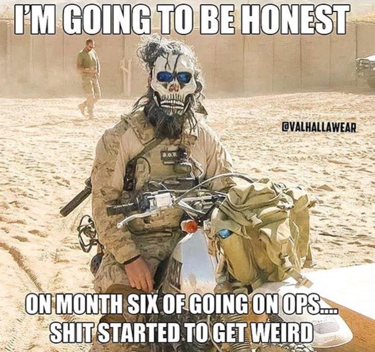 I'm Going To Be Honest... Military humor, Military jokes