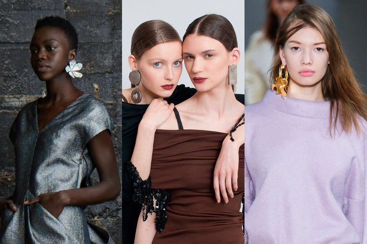 Fall 2015's Most Wearable Fashion Trend: Statement Earrings. Minimal effort, maximum impact: The chicest way to accessorize this season.