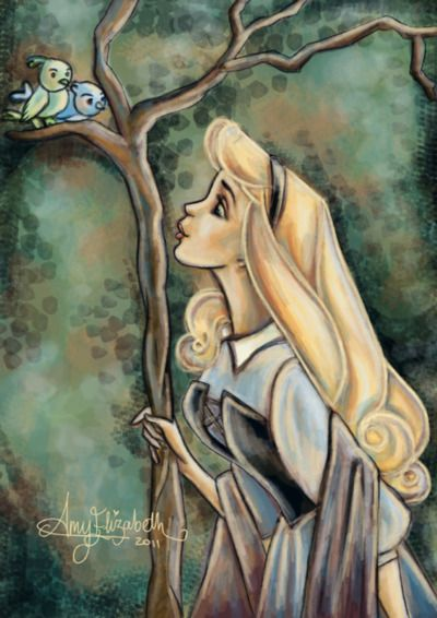 .: Sleep Beautiful, Disney Kids, Little Birds, Disney Princesses, Princesses Aurora, Fans Art, Princesses Disney, Briar Rose, Disney Movie