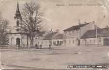 Wieselburg Moson Kapellen Platz b Györ Moson Sopron Ödenburg Ansichtskarte 1921