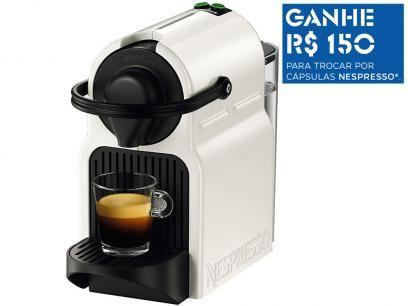 Cafeteira Espresso 19 Bar Nespresso Inissia - Branco com as melhores condições você encontra no Magazine Mullearder. Confira!