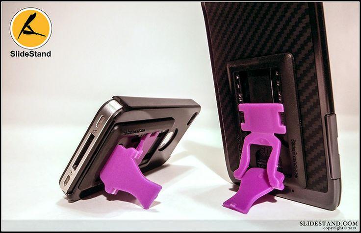 The black on purple slidestand.