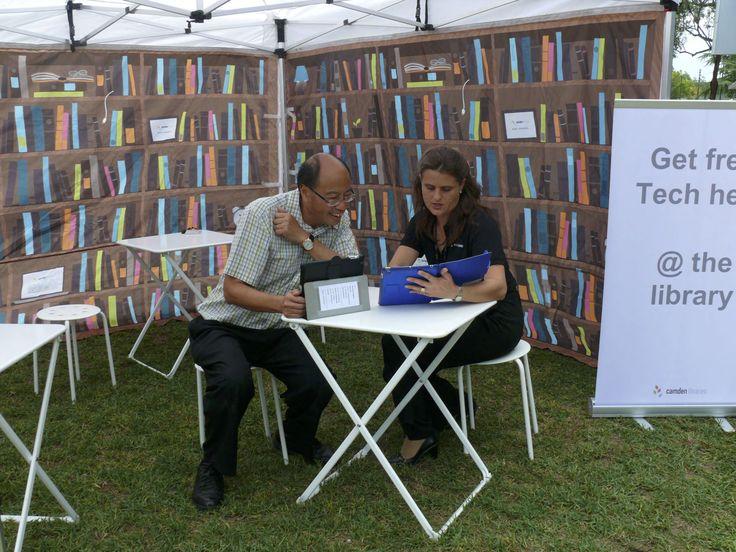Books Unbound, Camden Library pop-up  Narellan, 2014