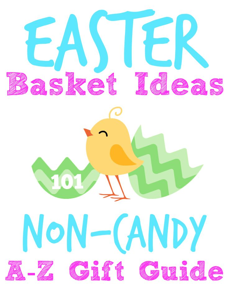 Easter Basket Ideas: A to Z Gift Guide