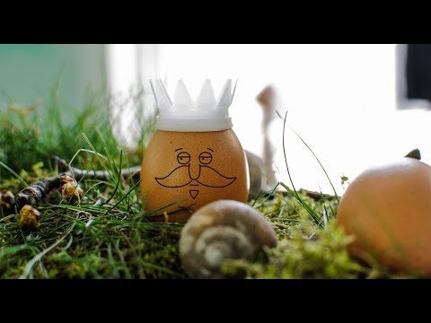 Easter 3D printing idea: King's crown | DIY egg decoration created with VECTARY - YouTube