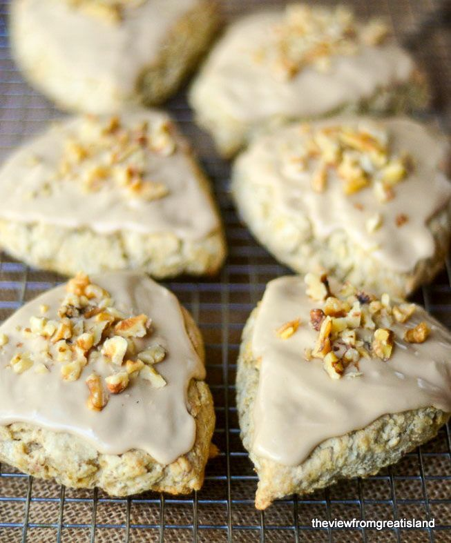 Copy Cat Starbucks Maple Oat Nut Scones
