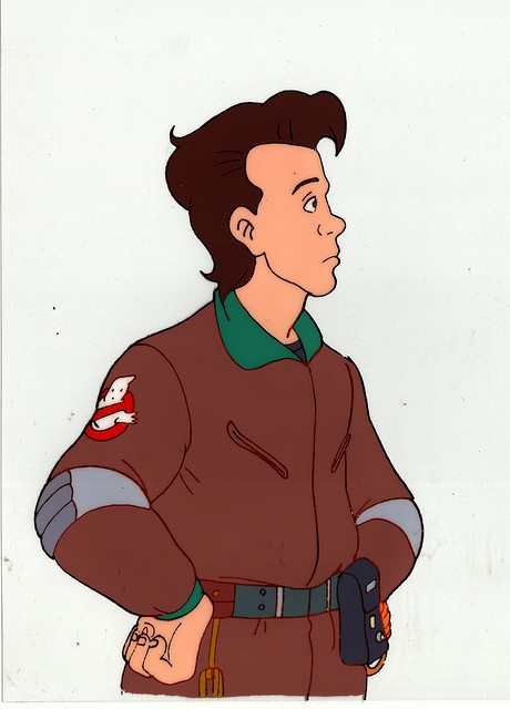 "Peter from ""The Real Ghostbusters"": Oh Peter, what can be said about thee?  With your con-man father, your dumb-blond personality, wish to be rich and your snappy one-liners, you are the most lovable scoundrel that could ever be."