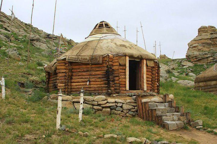 Yurts And Logs On Pinterest
