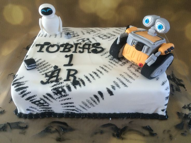 Wall-e birthdaycake