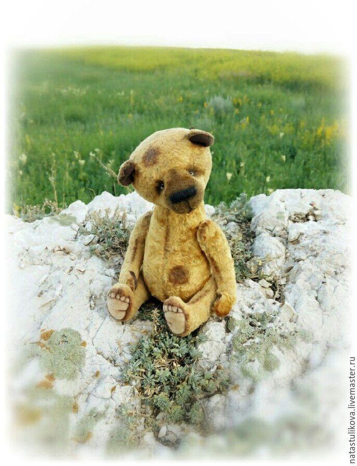 Купить Винтажный мишка Феденька - выкройка игрушки, выкройка мишки Тедди, мишка тедди в одежде