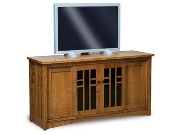 This Amish Crafted Kascade Four Door Tall TV Stand Is Built With Sturdy  Hardwoods In Northern Indianau0027s Amish Country.