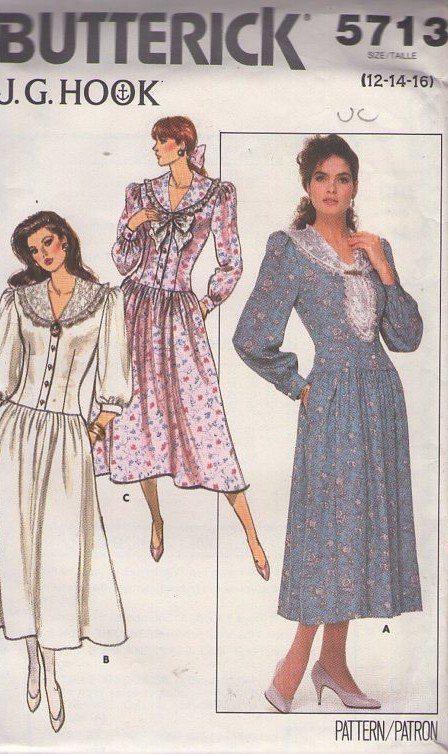 Drop Waist Plus Size Sewing Patterns For Women