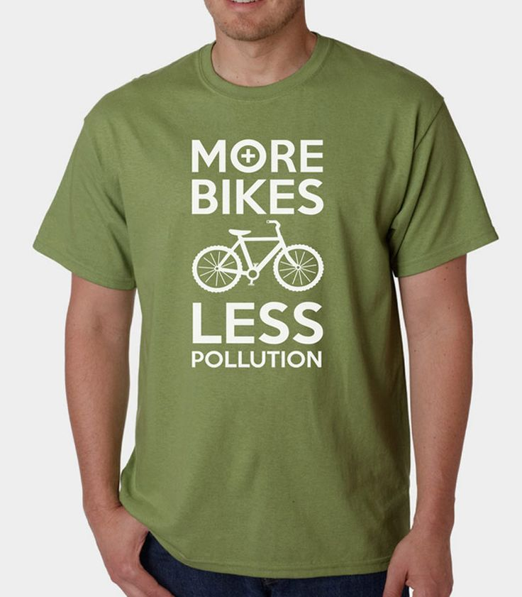 More Bikes Less Pollution » Silly Boy T-shirts