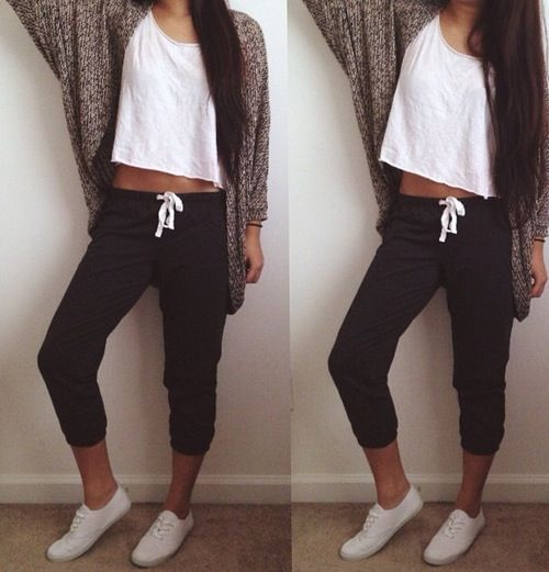 Bum day outfit with a messy ponytail or bun