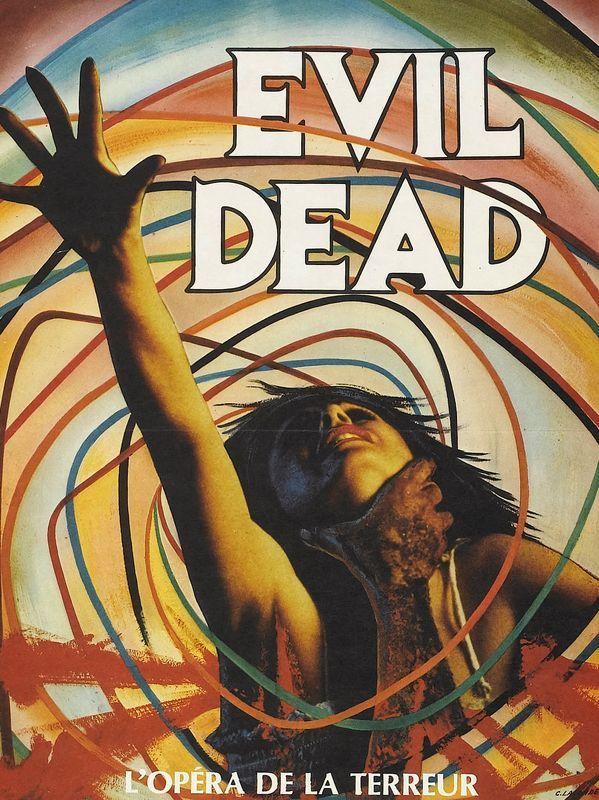 Evil Dead poster, alternate French Art.
