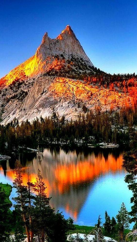 Cathedral Light – Yosemite National Park, Californ…