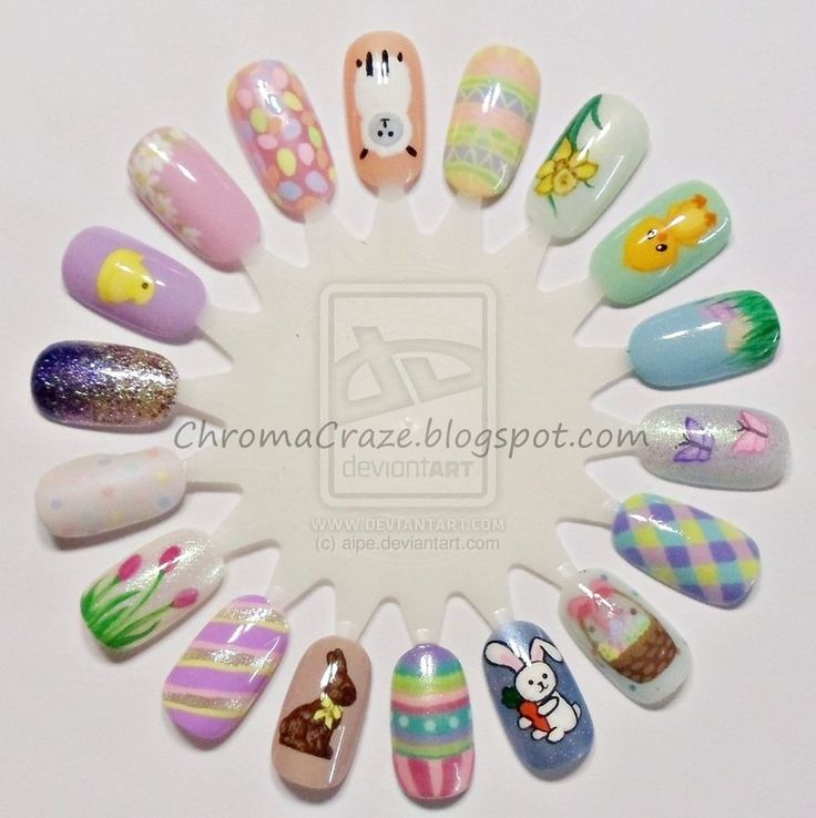 Easter Nails By Aipe