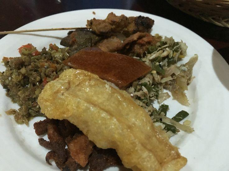Nasi Babi Guling Pak Malen 26-29 Dec 15 Bali culinary #exploreindonesia