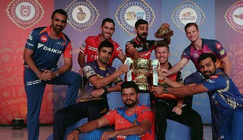 IPL 2017 Team Captains!