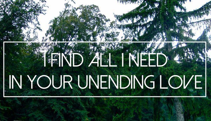 Hillsong-unending love #hillsong #worship #Jesus #Christ #faith