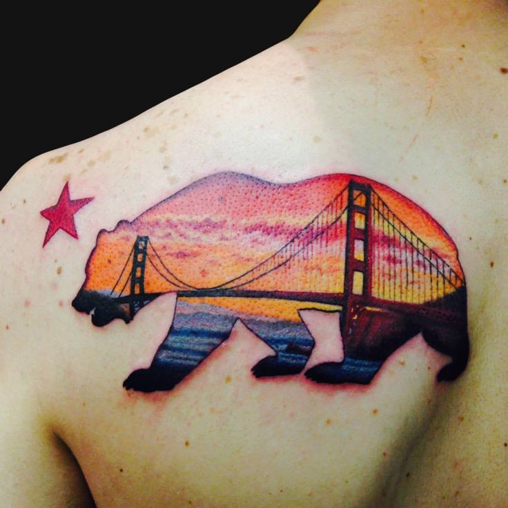 14 best tattoos images on pinterest bridge tattoo for Best tattoo artists in northern california