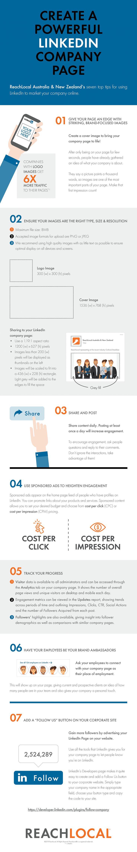 #Infographic - Create a Powerful LinkedIn Company Page